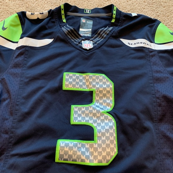 Stitched Russell Wilson jersey!